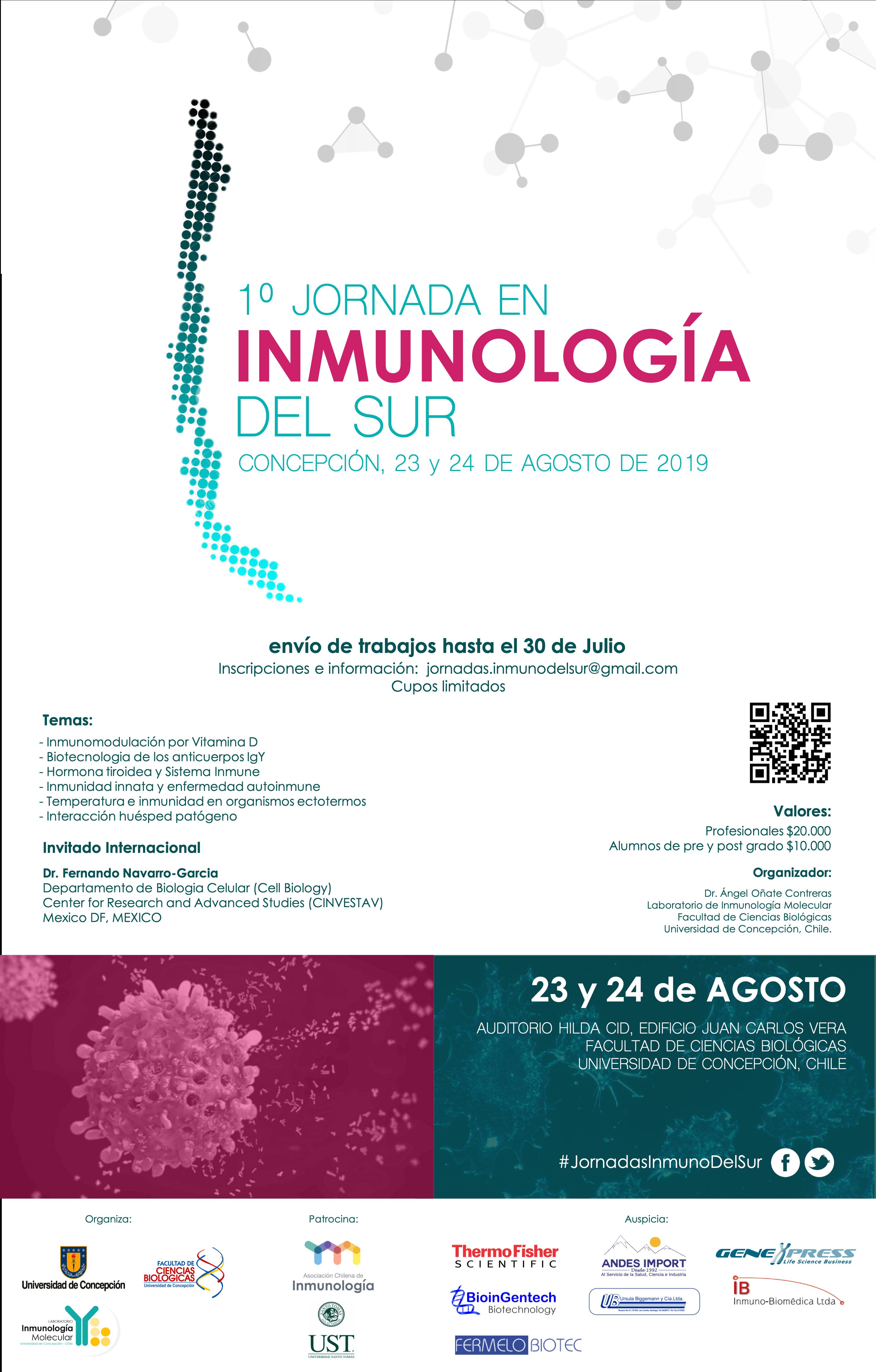 Jornadas de Inmunología del Sur graphic