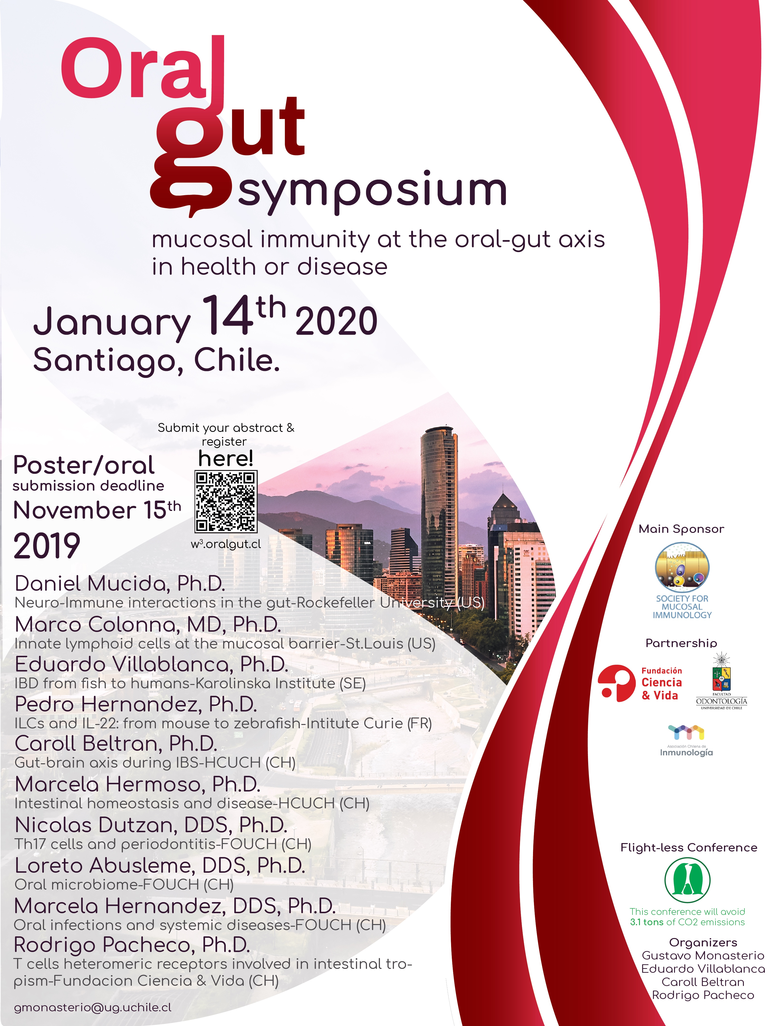 "First International Symposium ""Mucosal immunity at the oral-gut axis in health or disease"" graphic"