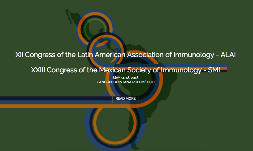 XII Congress of the Latin American Association of Immunology – ALAI graphic