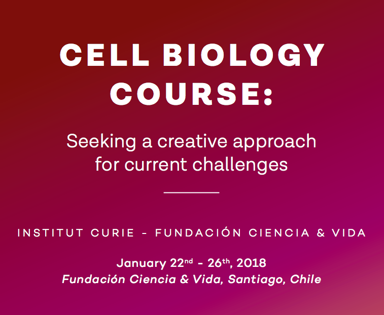 6th Cell Biology Summer Course CHILE – 2018 graphic