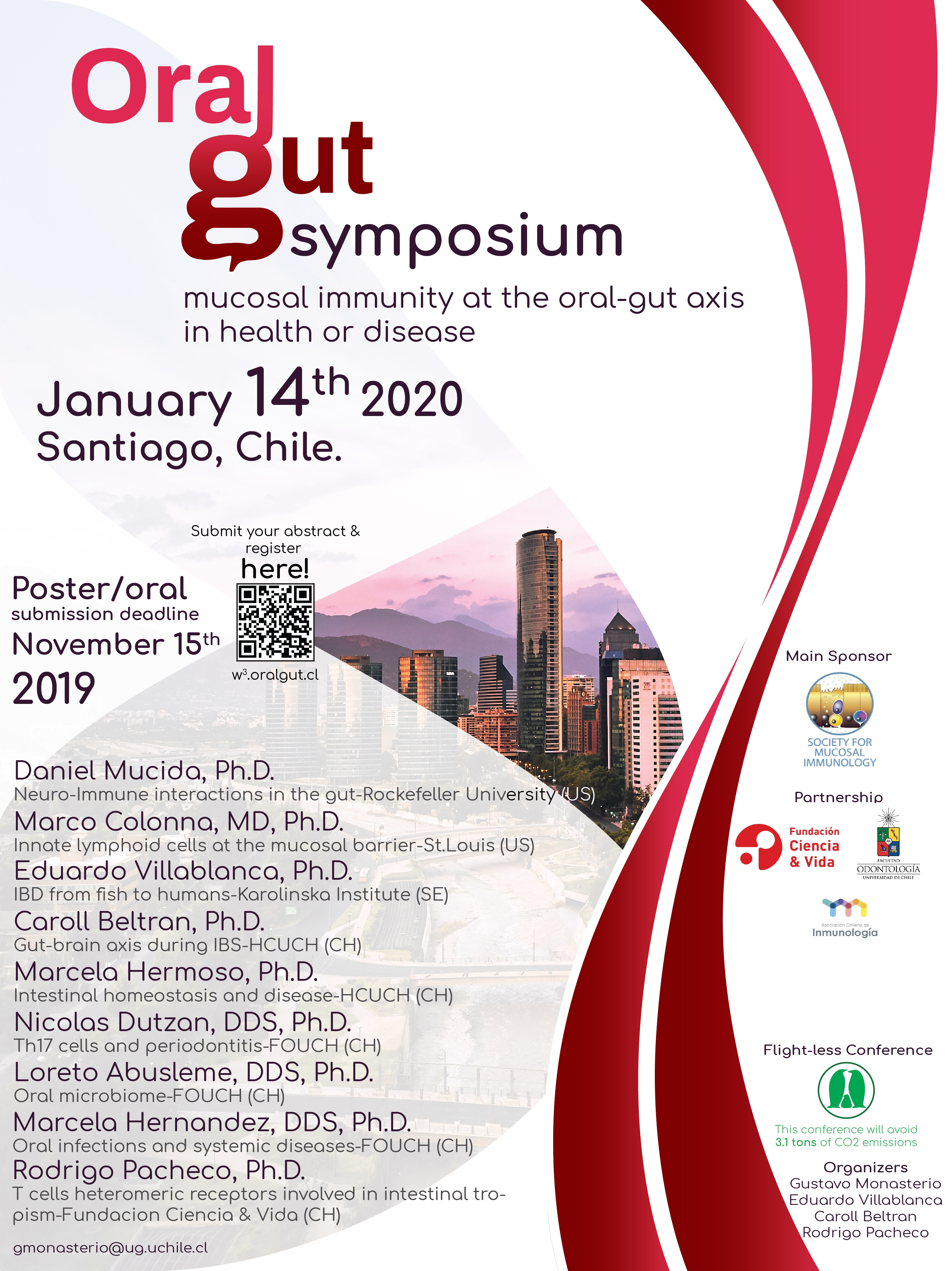 """First International Symposium """"Mucosal immunity at the oral-gut axis in health or disease"""" graphic"""