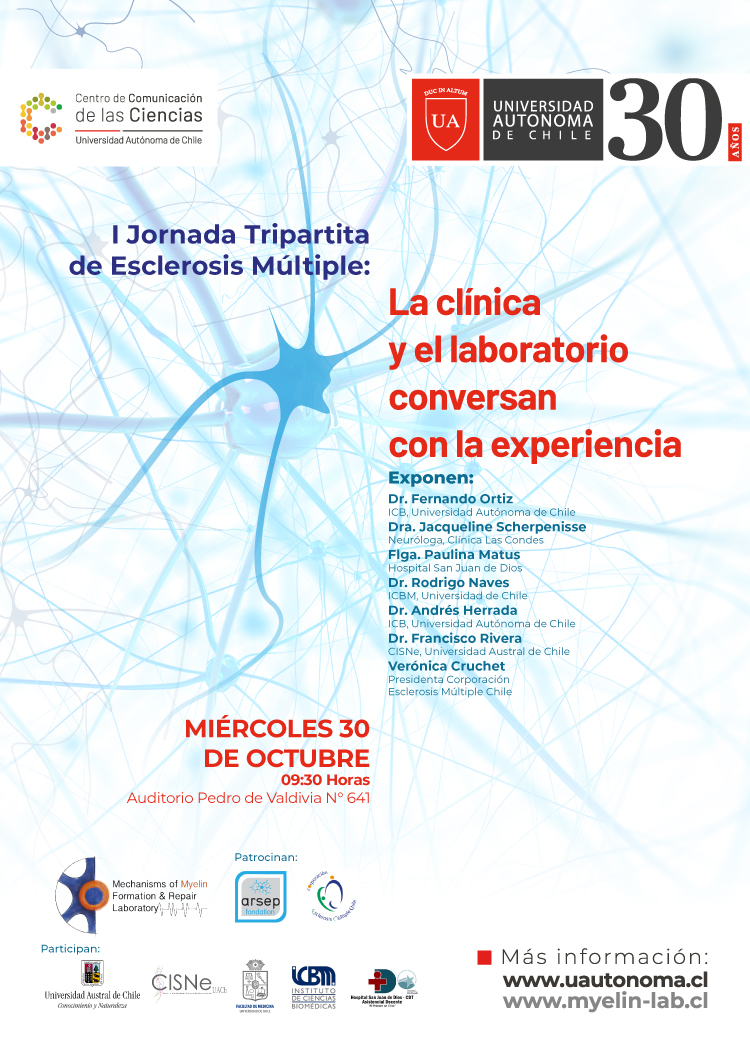 Jornadas Tripartitas de Esclerosis Múltiple. graphic